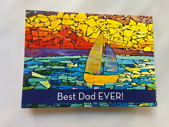 Best Dad EVER! greeting card