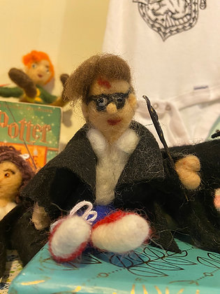 Hand Felted Wizard
