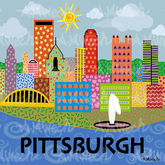 Pittsburgh, by April Minech