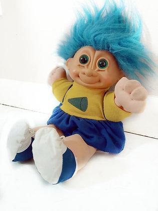 Vintage 80s/90s Cheerleader Troll Doll |