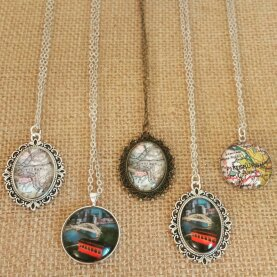 Pittsburgh Map Necklaces