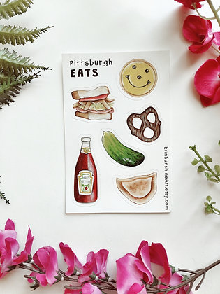 Pittsburgh Favorites: Vinyl Sticker Pack