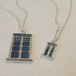 Tardis Necklaces