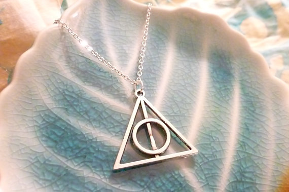 Deathly Hallows Inspired Necklace
