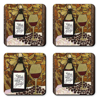 Wine with Friends - Coasters