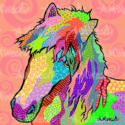 Animal Pop Art, by April Minech