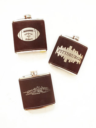 Pittsburgh Stainless Steel Flasks