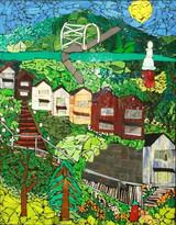 Step Trek Pittsburgh 2013, by Debbie Jacknin of Mosaic Glass Creations