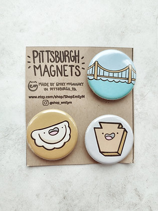 Pittsburgh Magnet Pack