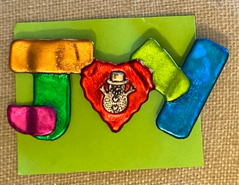 Joy Pin by Cathy Frank
