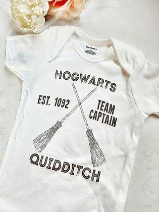 Harry Potter Inspired Qudditch Onesie