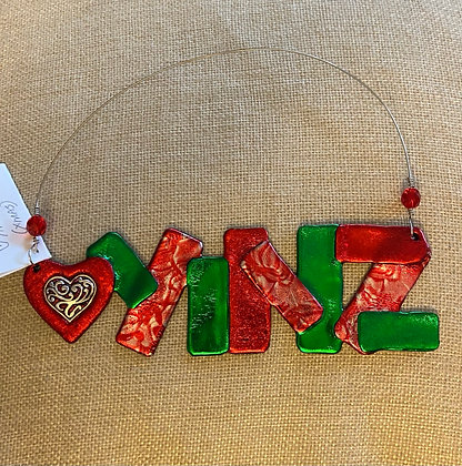 Yinz Have a Merry Christmas Wall Hanging or Ornament, by Cathy Frank