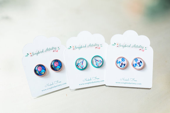 Disney Inspired Earrings (Buy one get one free!)