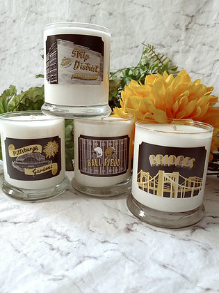 Pittsburgh Inspired Candles