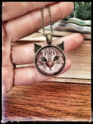 Personalized Kitty Necklace