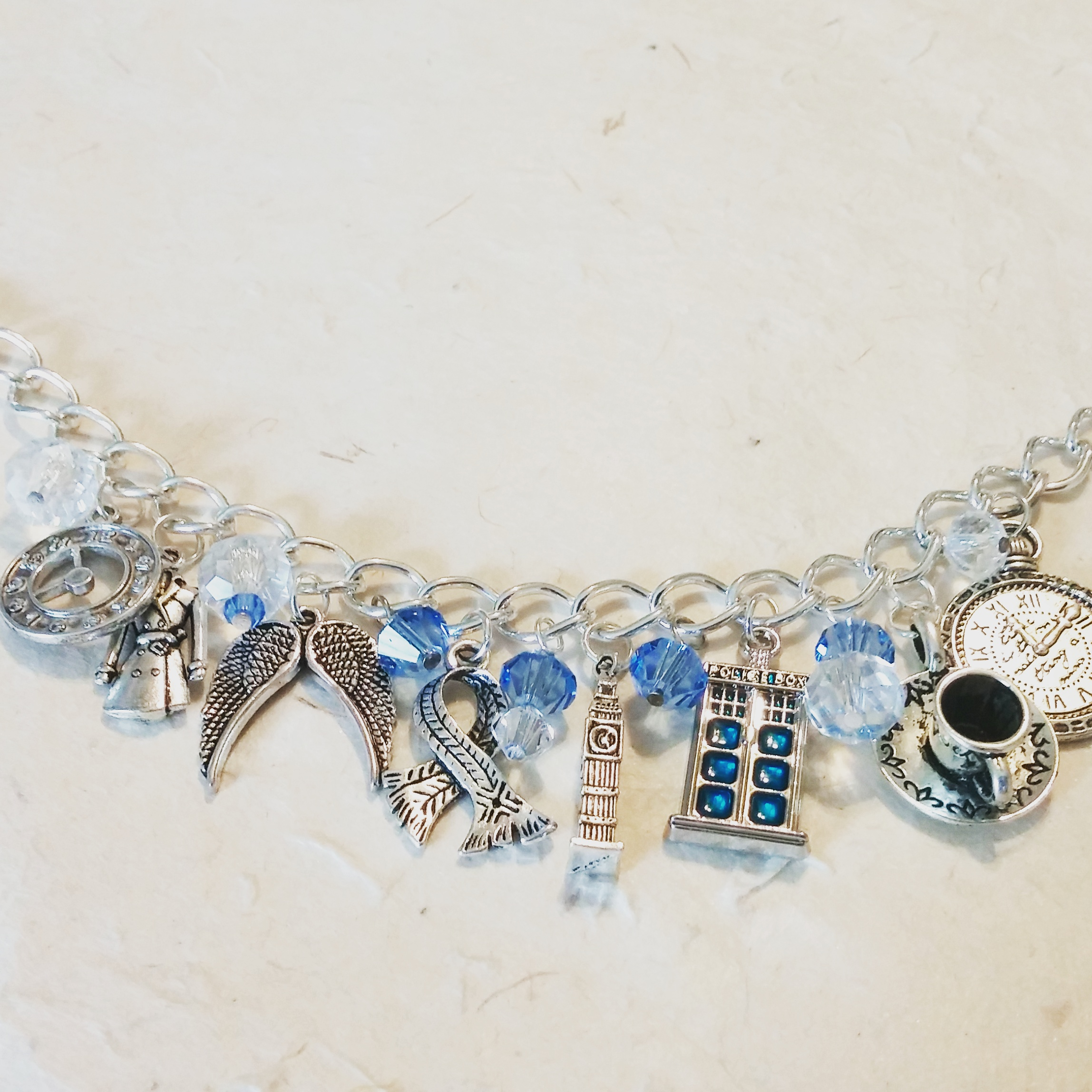 Dr. Who Inspired Bracelet