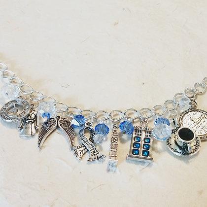 Dr. Who Inspired Charm Bracelet