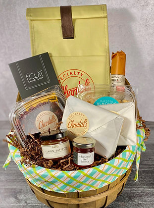 Chantal's Cheese Shop Basket - $100 value