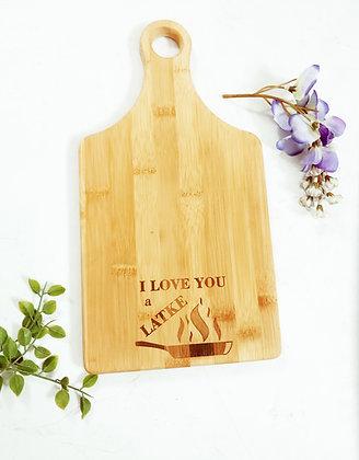 I Love You a Latke - Cutting Board