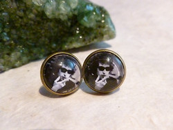 Bob Dylan Inspired Earrings