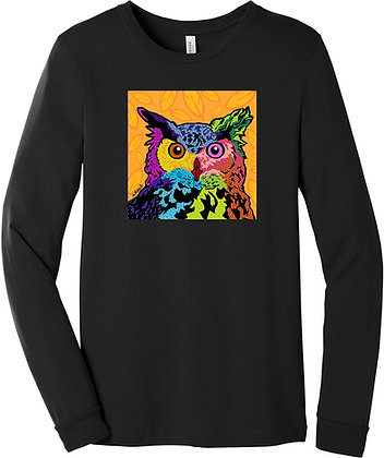 Animal Pop Art, long or short sleeve shirts, by April Minech