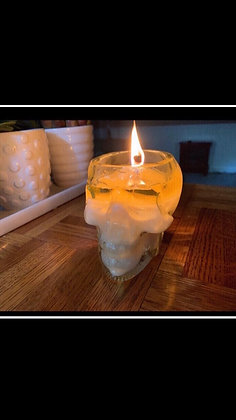 Skull Soy Candle