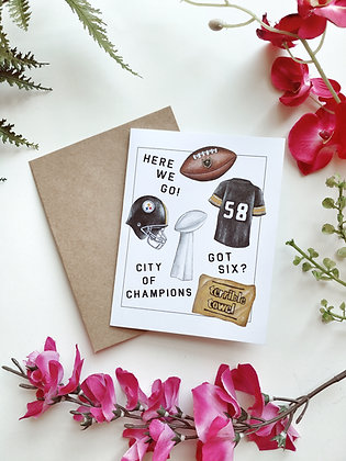 Pittsburgh: City of Champions Card