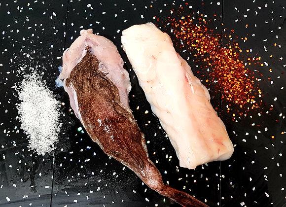 Fresh Monkfish Fillet (500g Fillet Weight, No Skin/Bone)