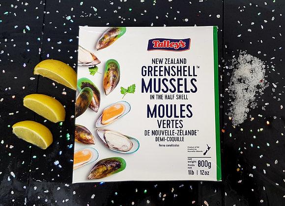 New Zealand greenshell mussels