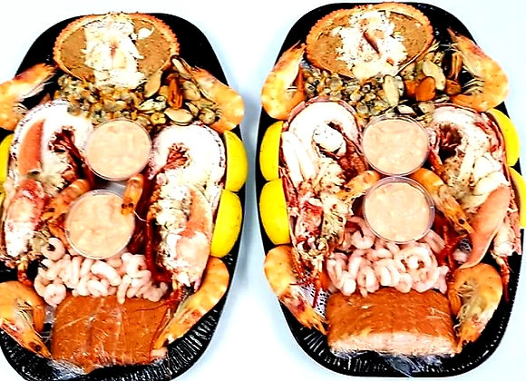 Luxury Lobster/Crab platter