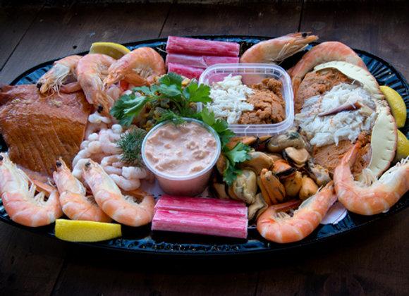 Luxury Brixham Crab Platter
