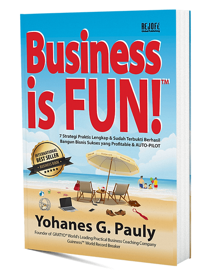Business is FUN! Book - International Be