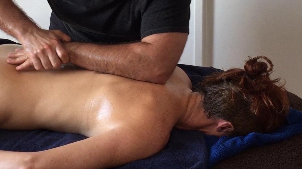 Carte cadeau pour un massage d'1h30 au choix