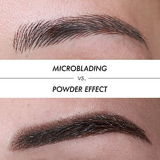 microblading and powder brows