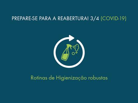 Adequação aos Protocolos de Saúde: Controle de Higienização de Ambientes