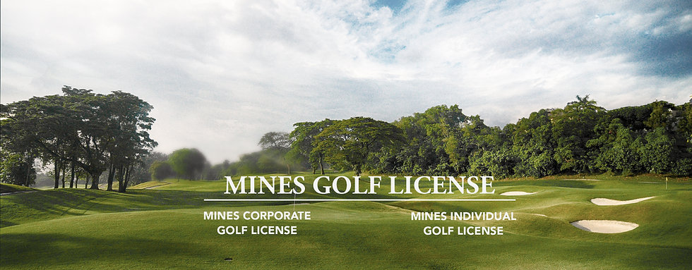 Mines Golf License