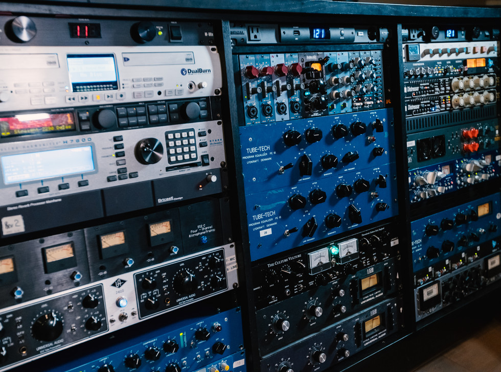 Studio A Outboard Gear