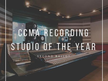 CCMA RECORDING STUDIO OF THE YEAR NOMINEE