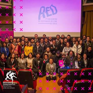 Bestias Danzantes Festival de Cine de Danza, formó parte de RED, en su 2da edición.