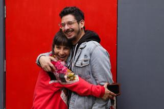 """NICOLÁS FERRADA Y YEIMY NAVARRO COMPARTEN SU EXPERIENCIA CREANDO """"VIOLENCE"""""""