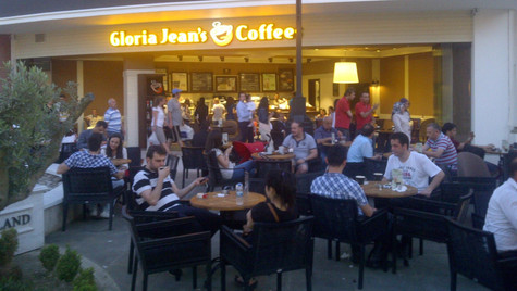 Gloria Jean' coffees