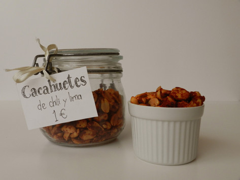 Cacahuetes de chili y lima
