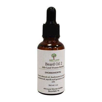 Beard Oil, Sandalwood 2