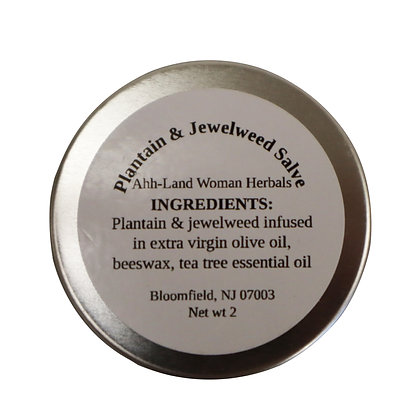 Plantain & Jewelweed Salve