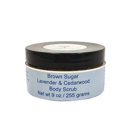 Brown Sugar Lavender & Cedarwood Scrub