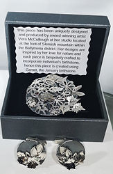 Vera McCullough Brooch presented to Catherine, Duchess of Cambridge