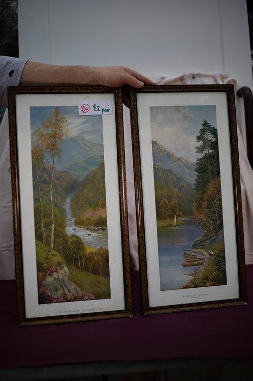 84. Pair of Vintage Prints
