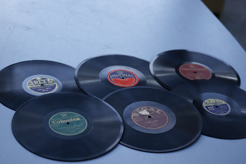491. Collection of Gramaphone Records