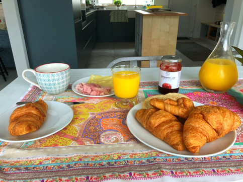 Breakfast at Driftwood Guesthouse