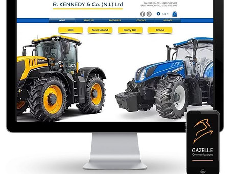 Leading agri dealership choose Gazelle Communications
